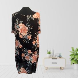 Vibrant Floral Dress