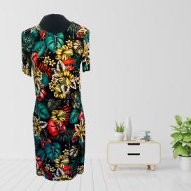 Tropical Jungle Shift Dress